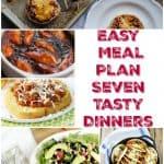 Easy Meal Plan With 7 Tasty Dinner Ideas: Weekly Meal Plan Week – 16