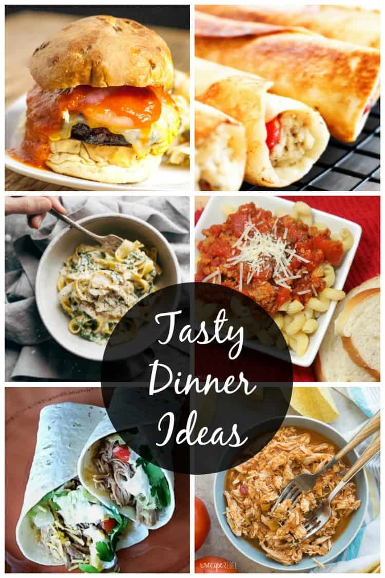 Tasty dinner ideas for busy families! Free weekly meal plan tailored to busy families. Grab these weeknight dinner ideas free!