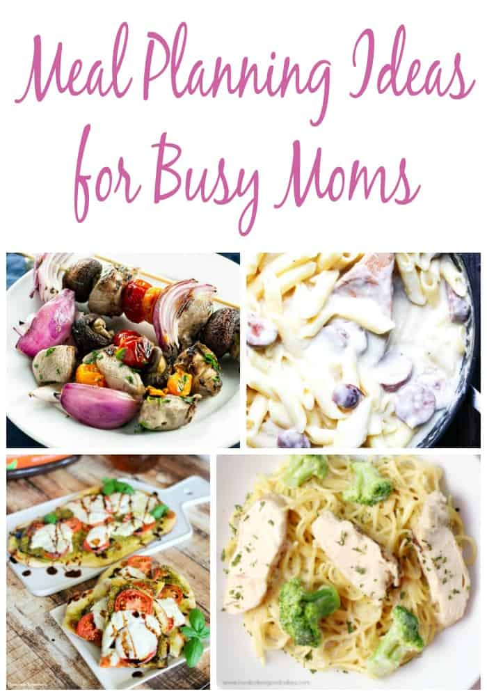 Meal planning ideas for busy moms! Make meal planning easy with these free weekly meal plans full of recipes for busy families and weeknight dinner ideas.