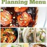 Free Weekly Meal Planning Menu – Week 25