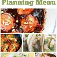 Free Weekly Meal Planning Menu – Week 25