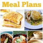 Easy Dinner Meal Plans – Week 34