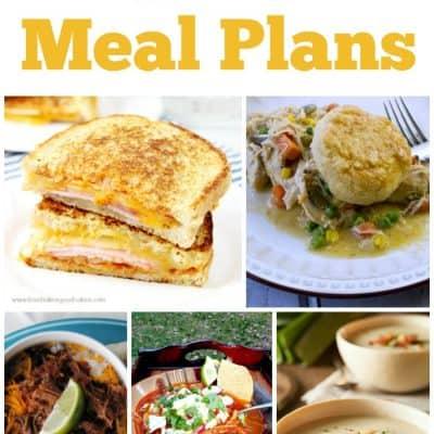 Easy Dinner Meal Plans – Week 34