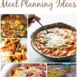 Weekly Meal Planning Ideas – Week 37