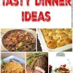 Tasty Dinner Ideas – Week 38