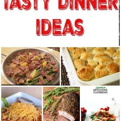 Tasty Dinner Ideas – Week 38