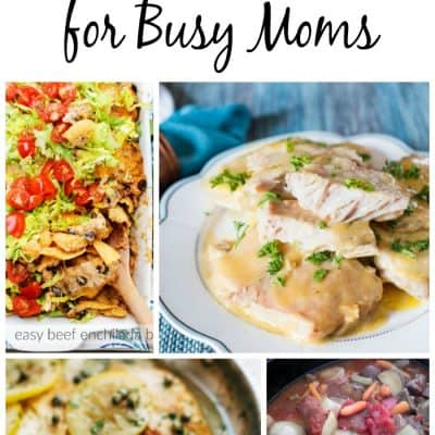 Meal Planning Ideas for Busy Moms – Week 42