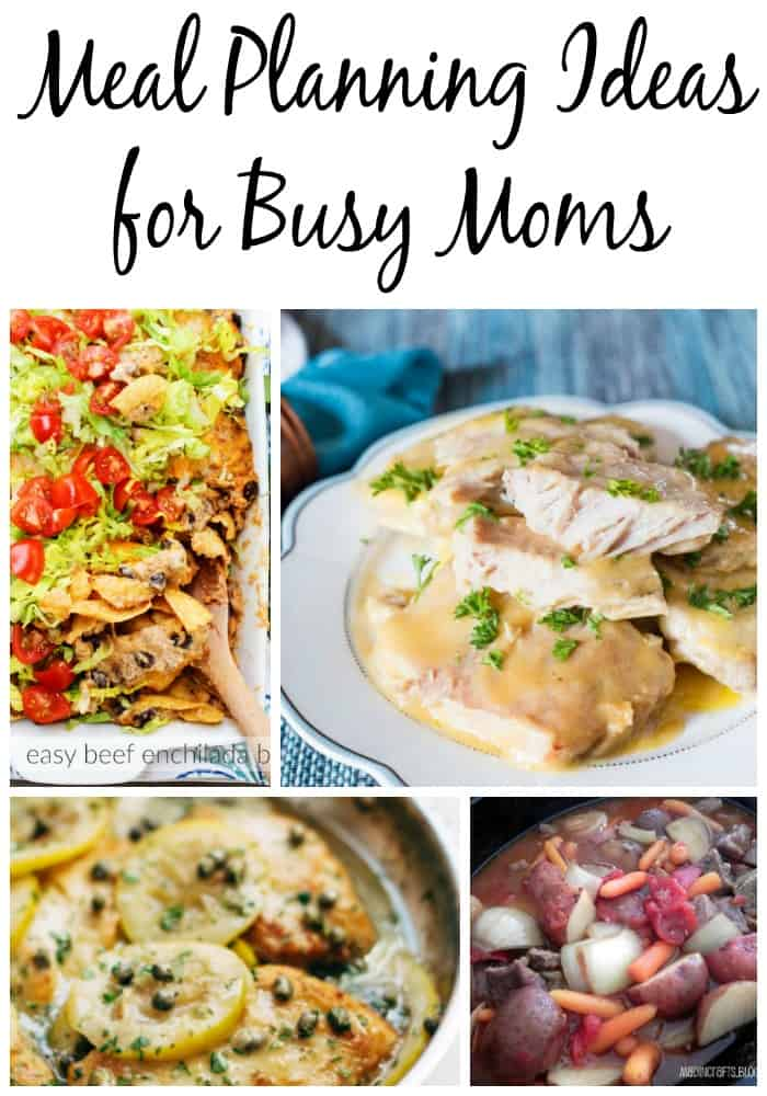 meal planning ideas for busy moms