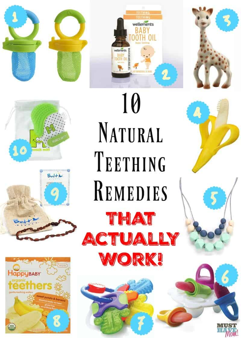 10 Natural Teething Remedies That Actually Work Must
