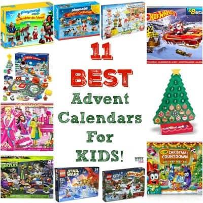 11 Best Kids Advent Calendars!