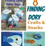 8 Finding Dory Crafts and Snacks + Finding Dory Out On DVD & Blu-Ray