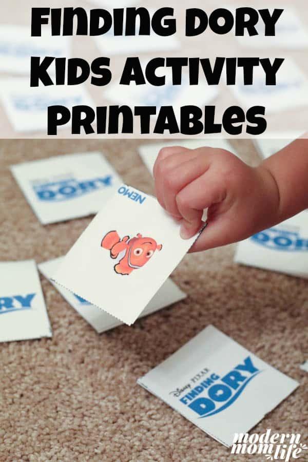 finding-dory-kids-activities-pinterest