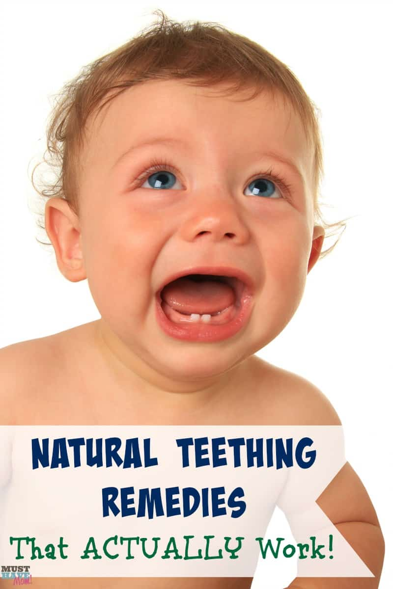 Natural teething remedies that ACTUALLY work! Try these natural teething relief tricks before turning to medications or chemicals.
