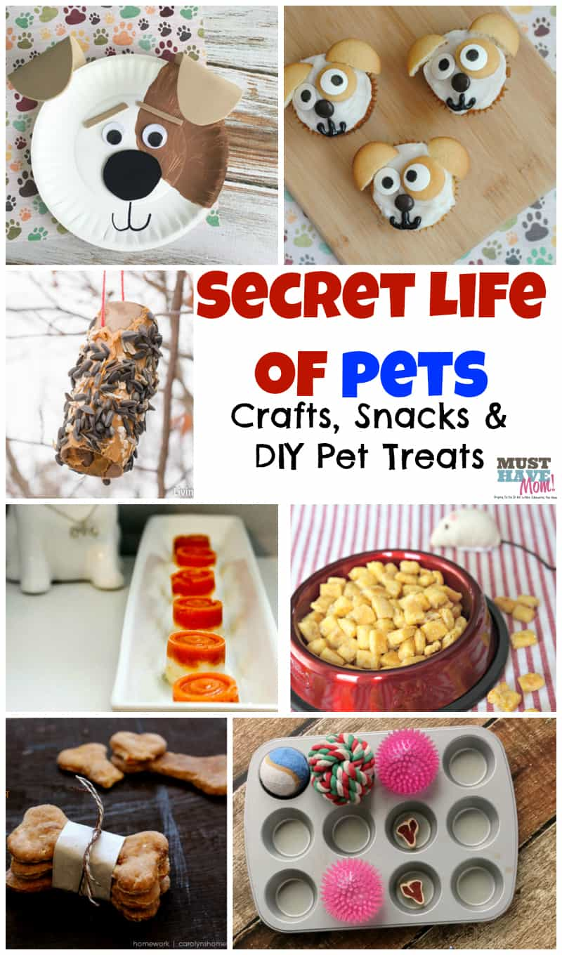 Pets activities and food ideas! Fun themed Secret Life of Pets ideas!