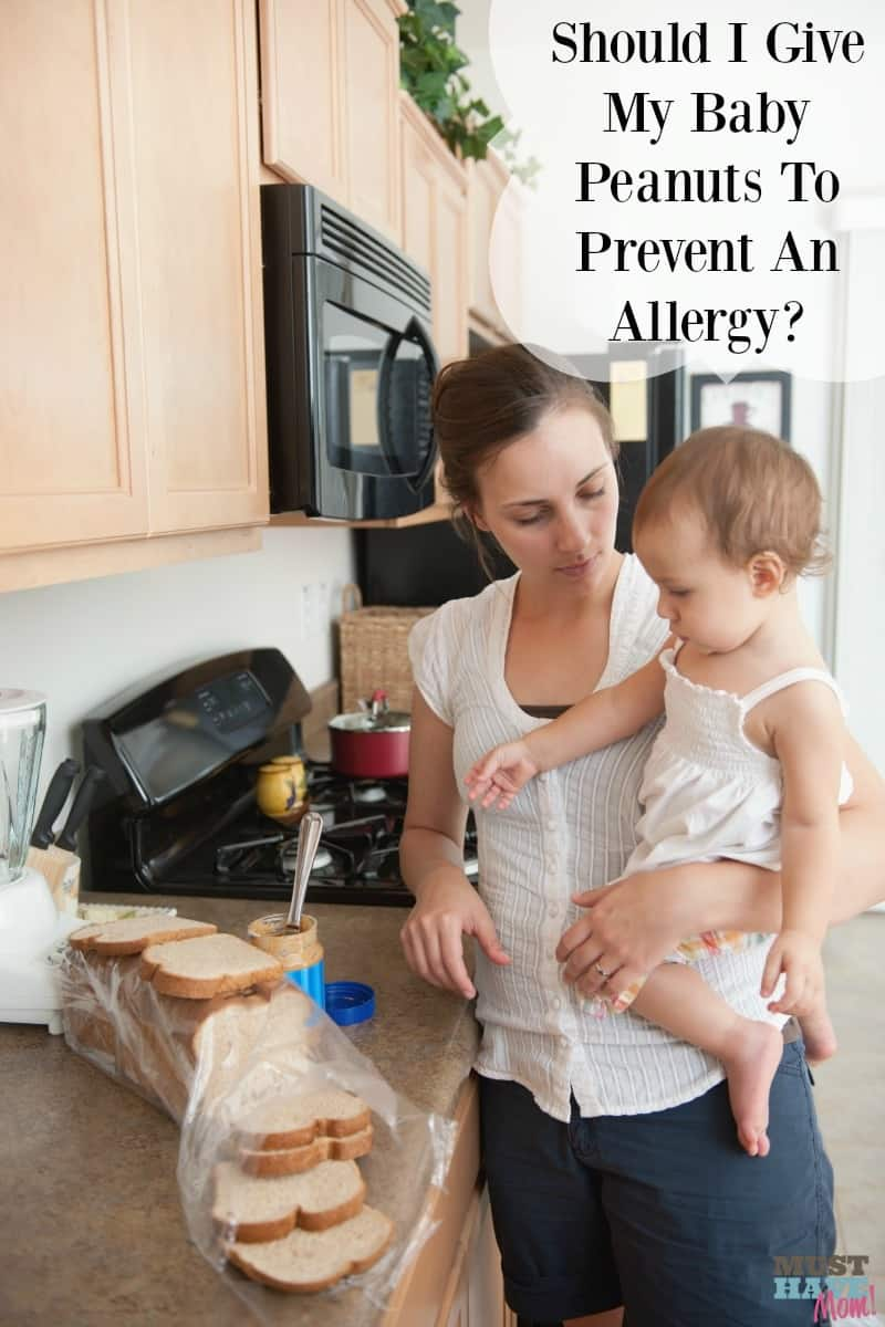 Should I give my baby peanuts to prevent a peanut allergy? At what age should babies be introduced to peanuts and are the recommendations changing?