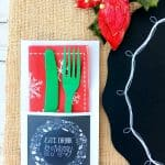 Free Rustic Christmas Party Printables