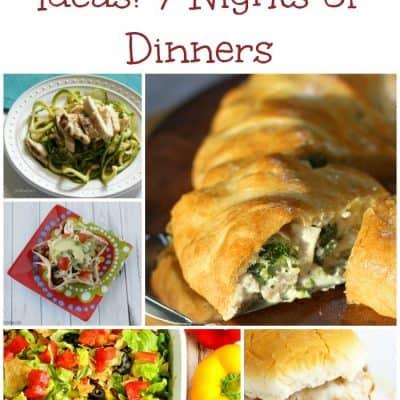 7 Weekly Dinner Ideas: Weekly Meal Plan – Week 11