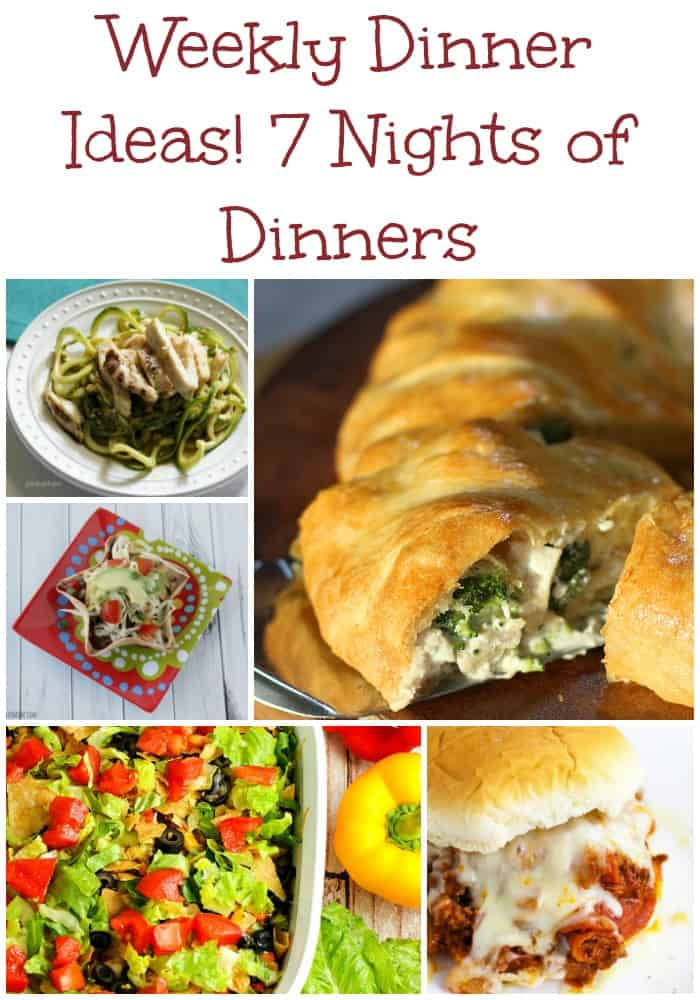 7 weekly dinner ideas weekly meal plan week 11 must have mom