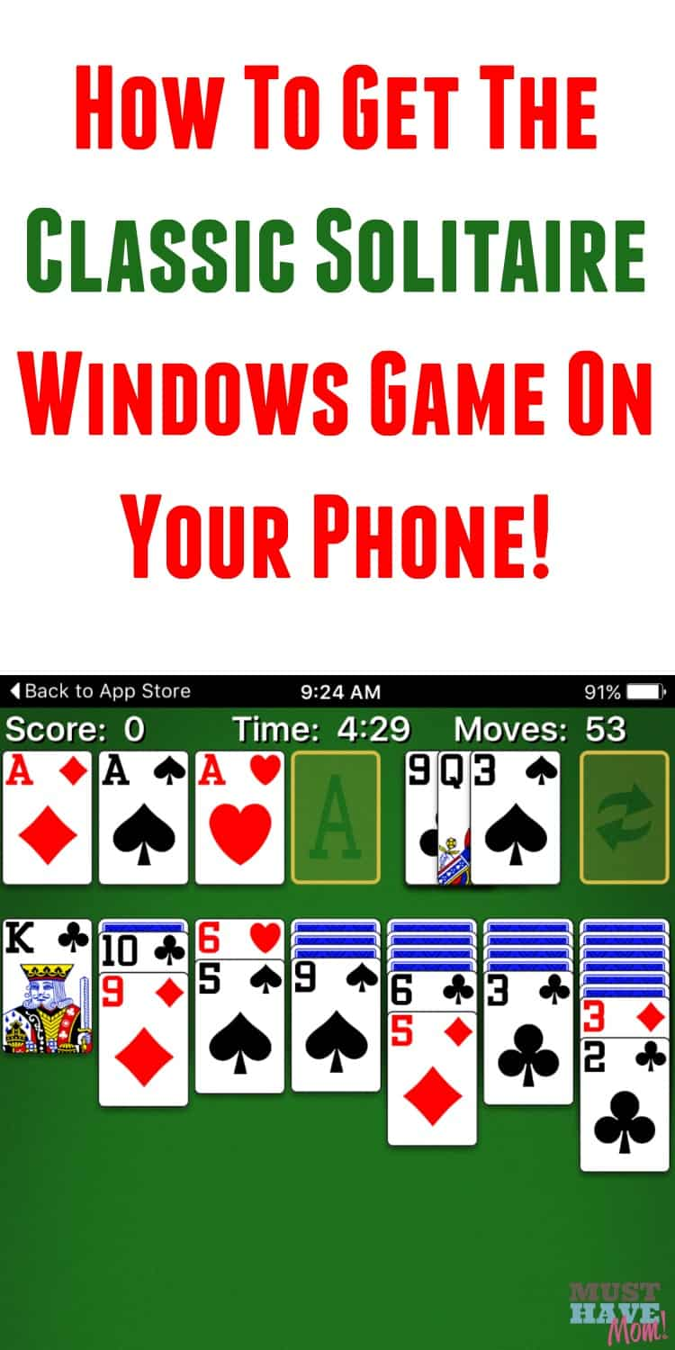 Remember the classic Windows solitaire game on your computer? Get the same game now for your phone! Play solitaire when waiting in the waiting room, on the bus, waiting in line, and more!