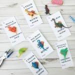 Dinosaur Free Printable Kids Valentine Cards