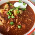Healthy Slow Cooker Paleo Buffalo Chicken Chili Recipe