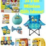 31 Minion Gift Ideas For Kids!