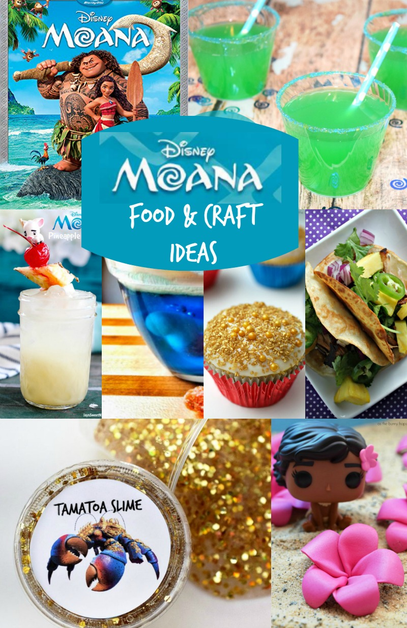 Disney moana party crafts moana food ideas must have mom for Craft ideas for birthday parties