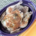 Instant Pot Lemon and Garlic Chicken Recipe