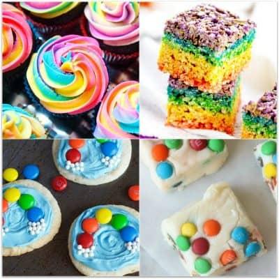 Fun & Delicious Rainbow Party Food Ideas