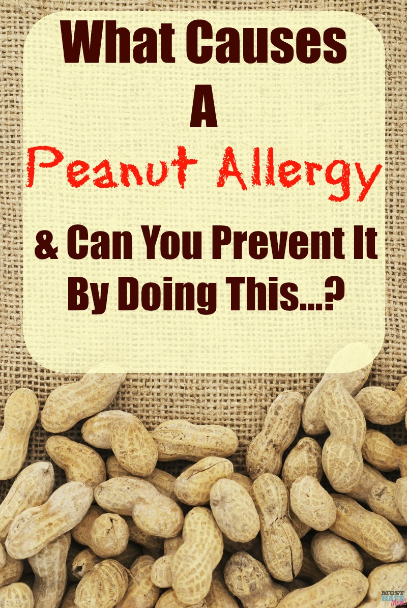 What causes a peanut allergy and can you prevent it by doing this simple thing?...Read for good info!