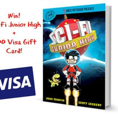 James Patterson Kids Books! NEW Sci-Fi Junior High + $100 Visa Gift Card Giveaway