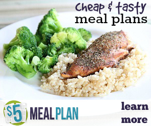 Get weekly meal plans, grocery lists and printable recipes delivered to your email inbox every week for just $5 a month! Grab a free 14 day trial!