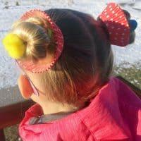 Crazy Hair Day Ideas Girls Cupcake Hairdo