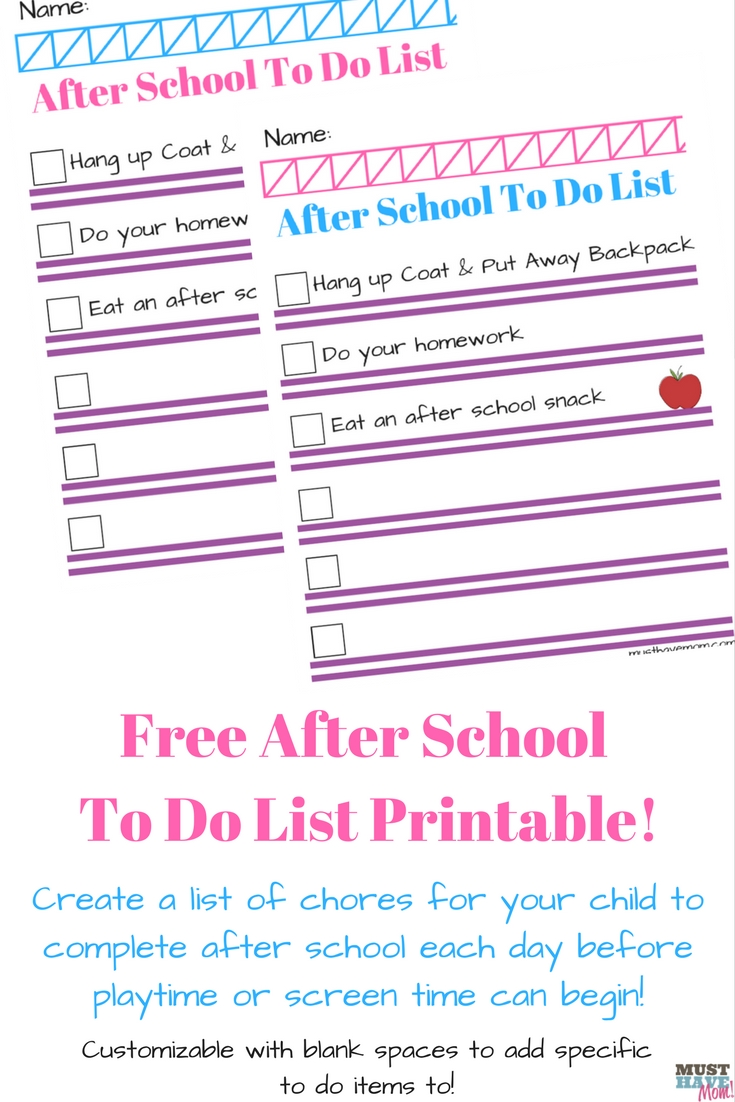image about Free Printable Chore List known as Cost-free Printable Chore Listing For Young children! - Should really Consist of Mother