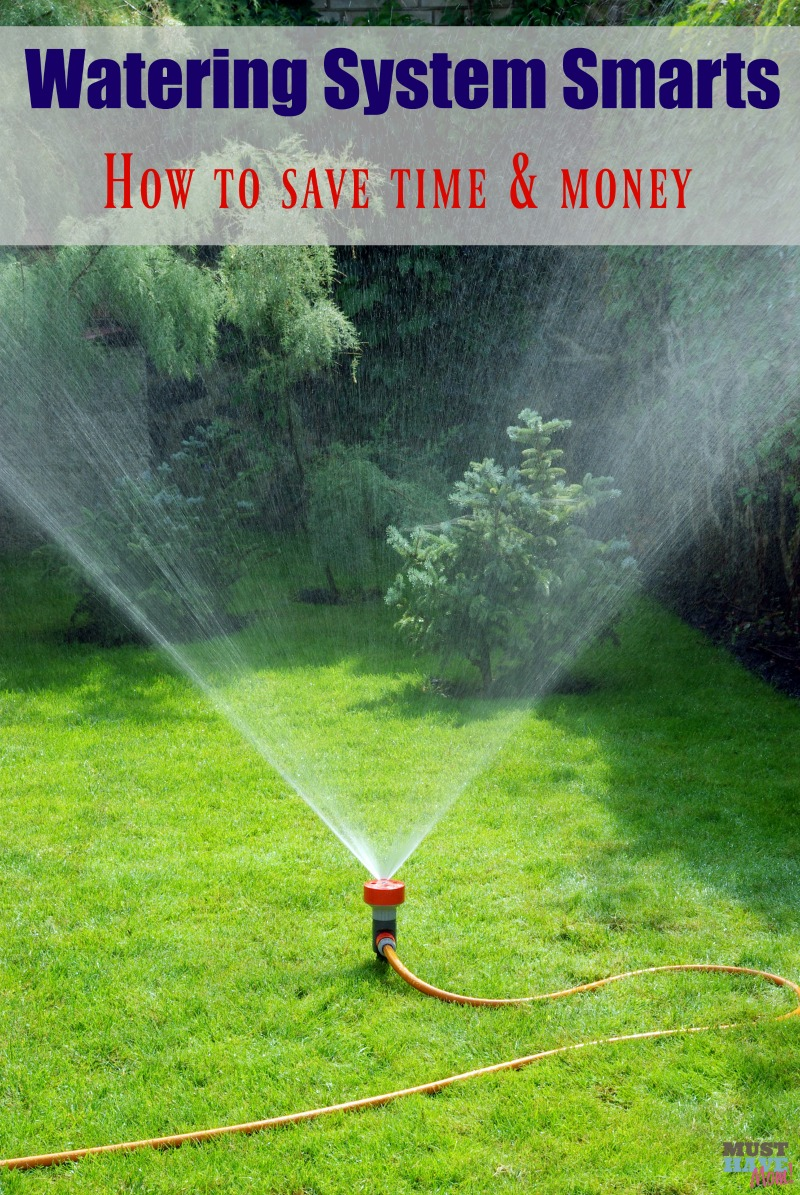 Watering System Smarts. How to save time, money and the planet by watering smart!