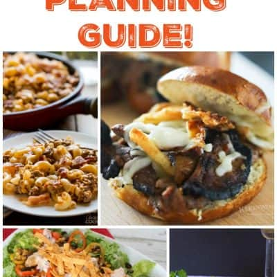 Meal Planning Guide – Week 29