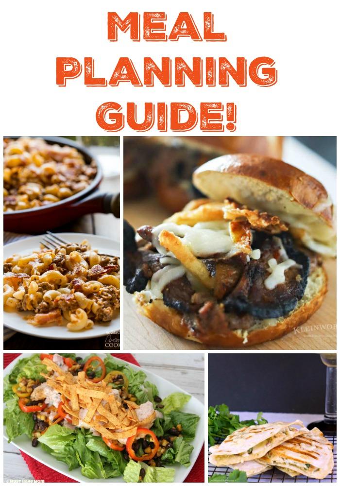 Meal Planning Guide - Week 29