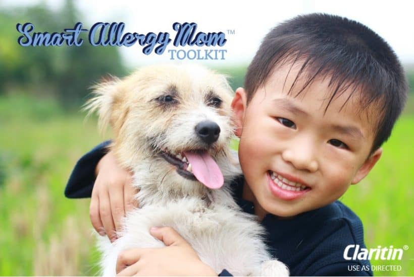 How to manage your child's allergies. Reduce sneezing, itchy, watery eyes and track the pollen in your area.