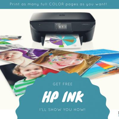 How To Get HP Printer Ink Delivered To Your Door FREE!