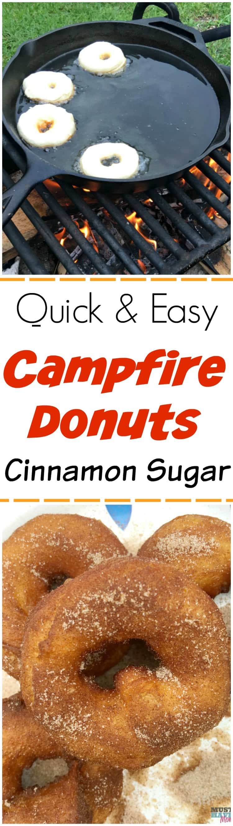 Easy Campfire Recipes These Donuts Are Our Kids Favorite Of All Camping