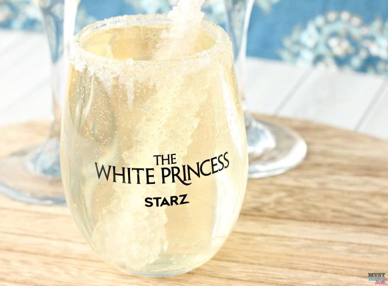 White princess drink mocktail