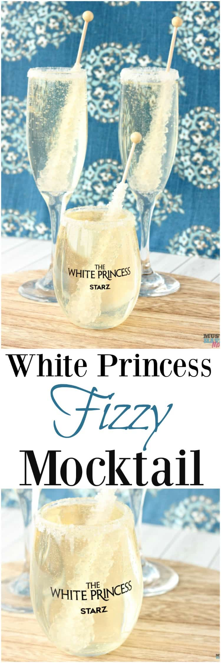 celebrate with a princess mocktail