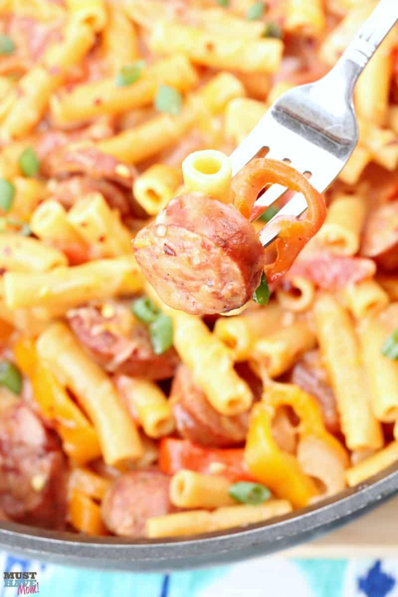 sausage and peppers one pot meal