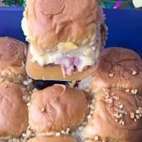 Hawaiian Ham and Cheese Sliders with Pineapple Recipe!