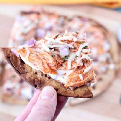 Buffalo Chicken 21 Day Fix Pizza Recipe!