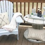 DIY Farmhouse Style Adirondack Chairs