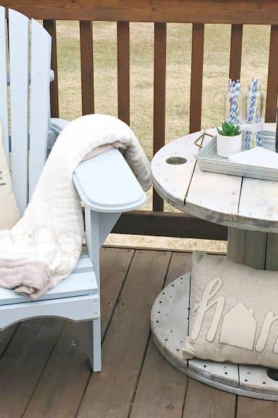 DIY Farmhouse Style Adirondack Chairs