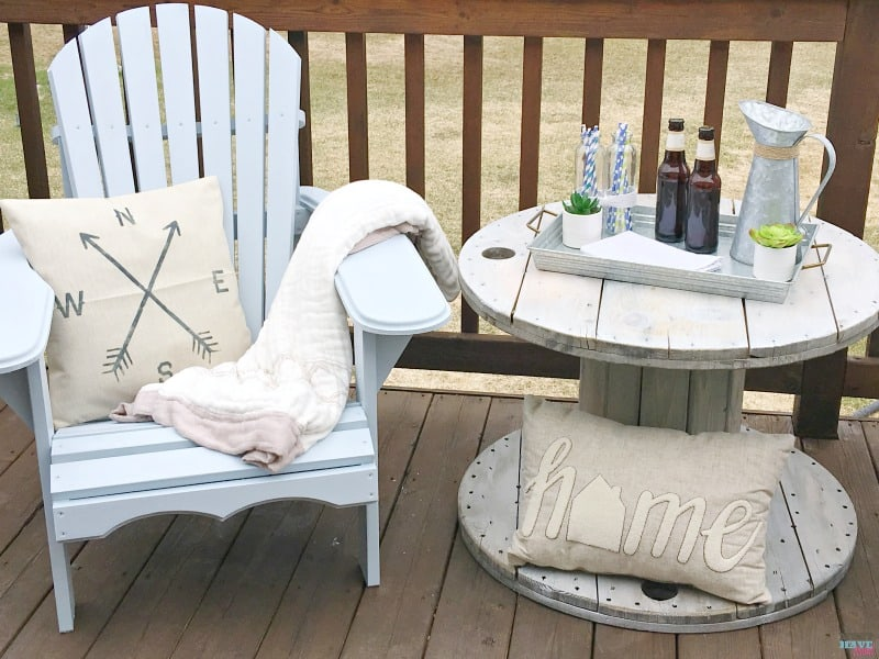 farmhouse furniture style. How To DIY Farmhouse Style Adirondack Chairs. Build Them, Paint Them And Furniture