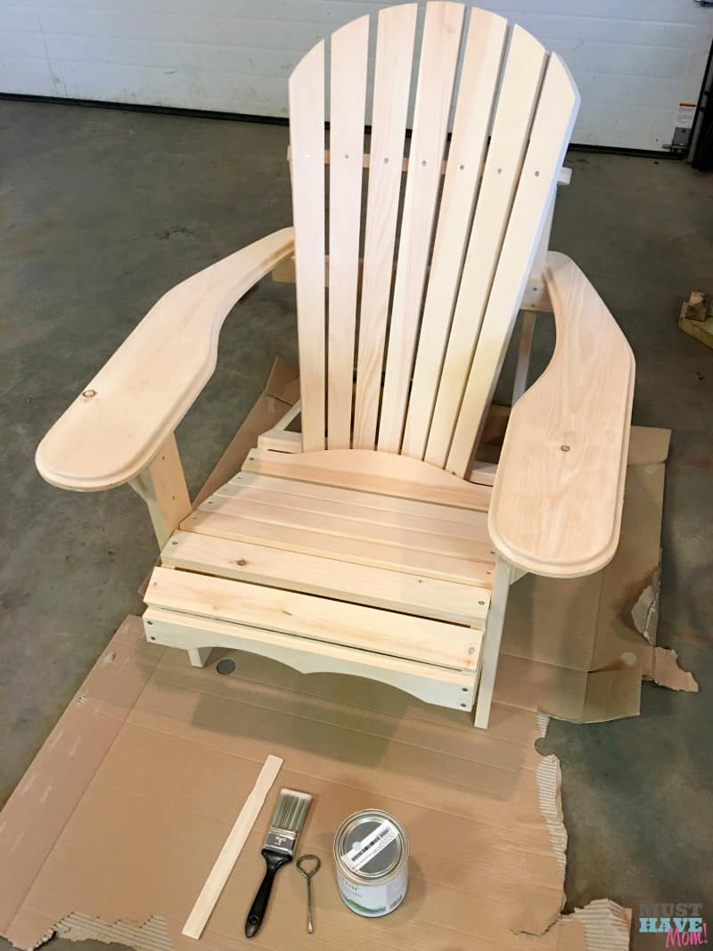 How To DIY Farmhouse Style Adirondack Chairs. Build Them, Paint Them And  Style Them