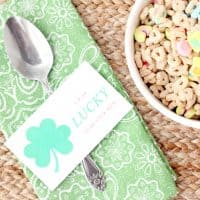 I'm So Lucky To Be Your Mom Free Printable Notes